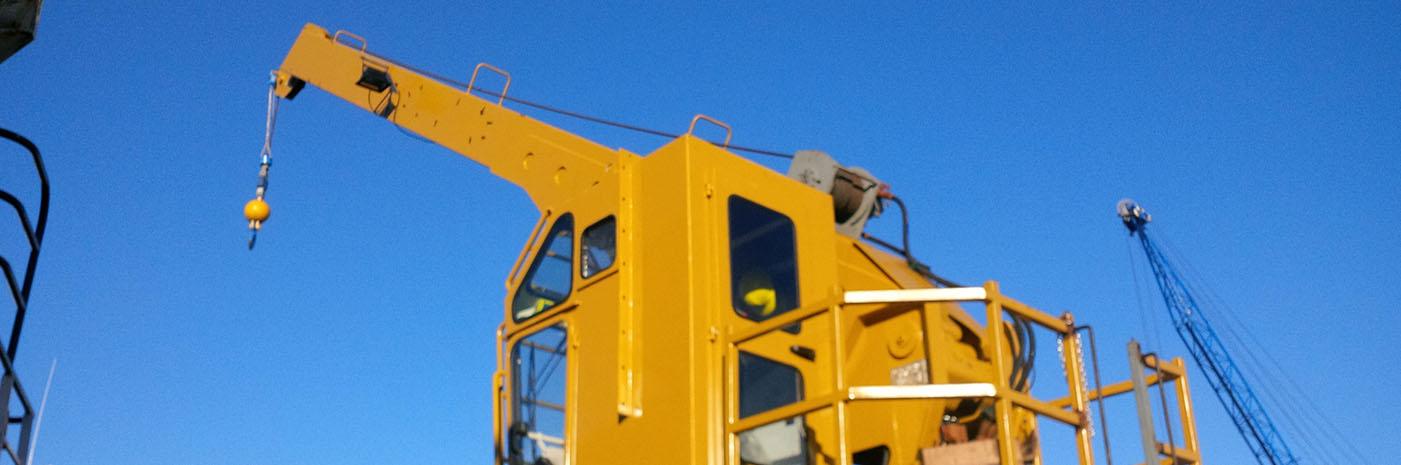 Jacobs 5 Ton Marine Crane